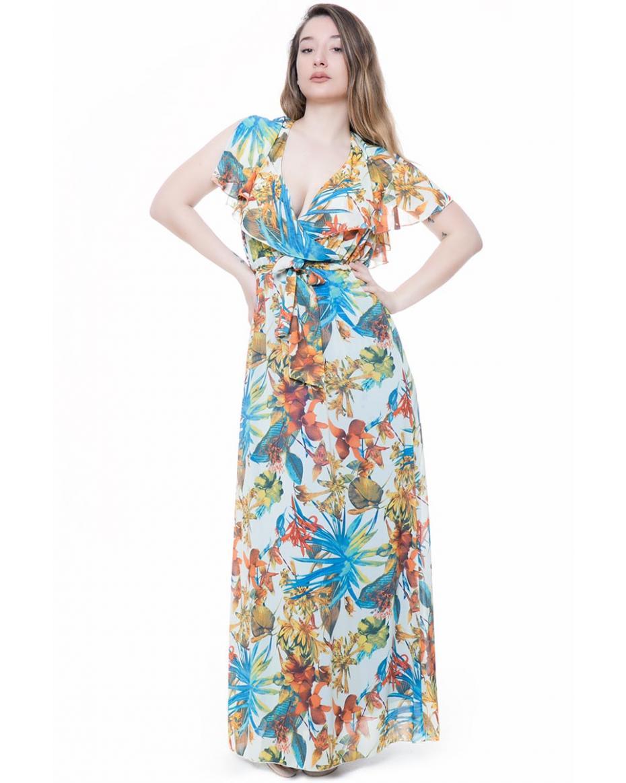 ceaf21194e25 HappySizes - Γυναικεία Φορέματα σε Μεγάλα μεγέθη - Plus size ...