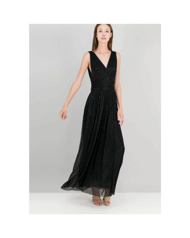 Λούρεξ φόρεμα με λεπτομέρεια σούρες. 1d33cdd1b15