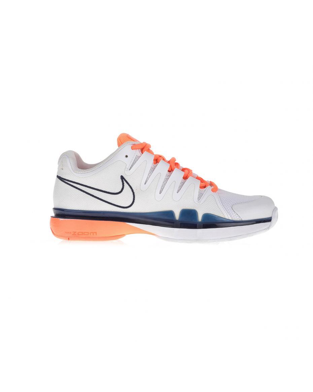 1c442b137ff NIKE - Γυναικεία παπούτσια NIKE ZOOM VAPOR 9.5 TOUR λευκά-πορτοκαλί ...