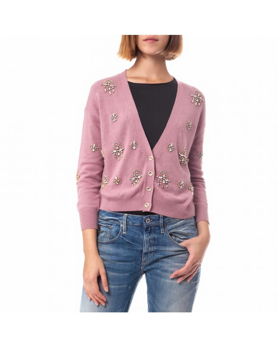 c74f8f5e77 JUICY COUTURE - Γυναικεία ζακέτα Juicy Couture ροζ ...