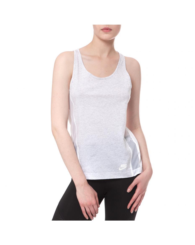 bdf961ecbffe NIKE - Γυναικεία μπλούζα NIKE άσπρη-μαύρη ...