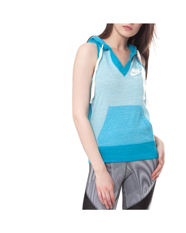 3c2562f7f0b5 NIKE - Γυναικεία μπλούζα NIKE μπλε ...