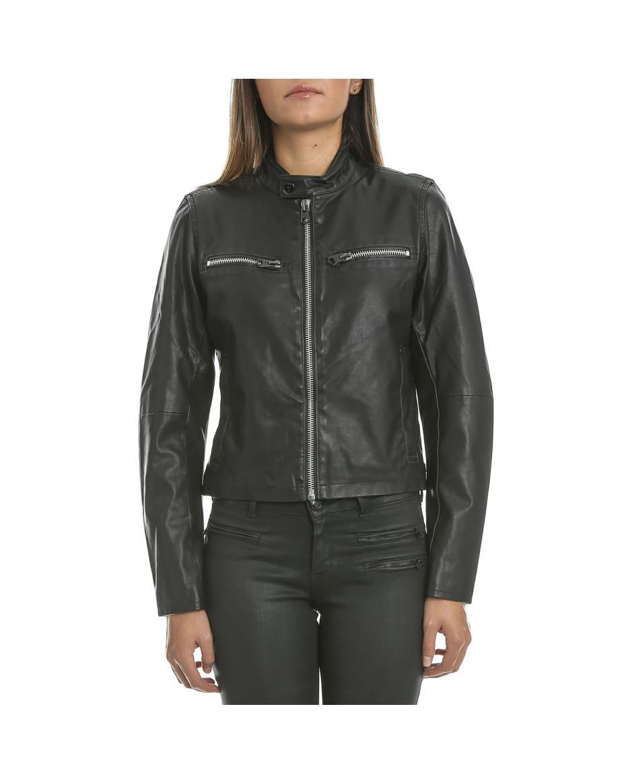 G-STAR RAW - Γυναικείο jacket G-Star Raw Mower slim μαύρο ... 1b360068250