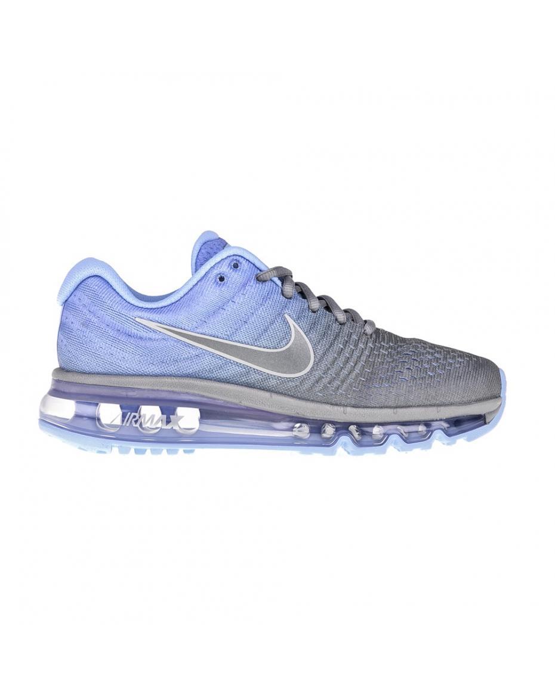f4ff9ef665d NIKE - Γυναικεία αθλητικά παπούτσια NIKE AIR MAX 2017 μπλε-γκρι ...