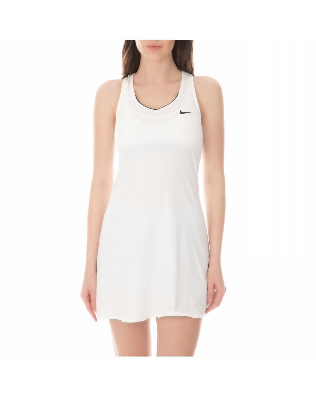 9460422d442 NIKE - Γυναικείο μίνι φόρεμα για τένις NIKE KCT PURE λευκό ...