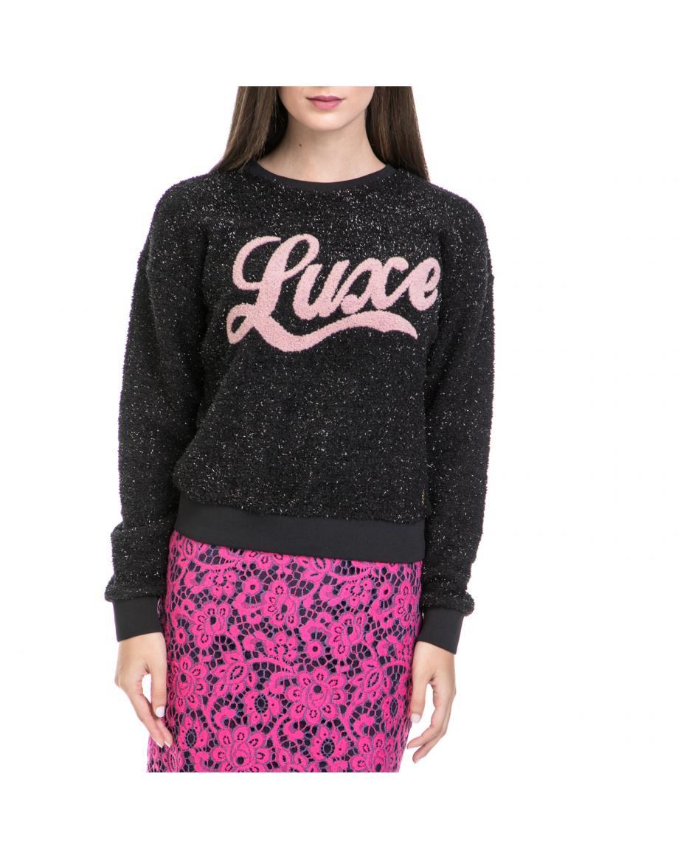 469180a9c505 JUICY COUTURE - Γυναικείο πουλόβερ JUICY COUTURE μαύρο ...