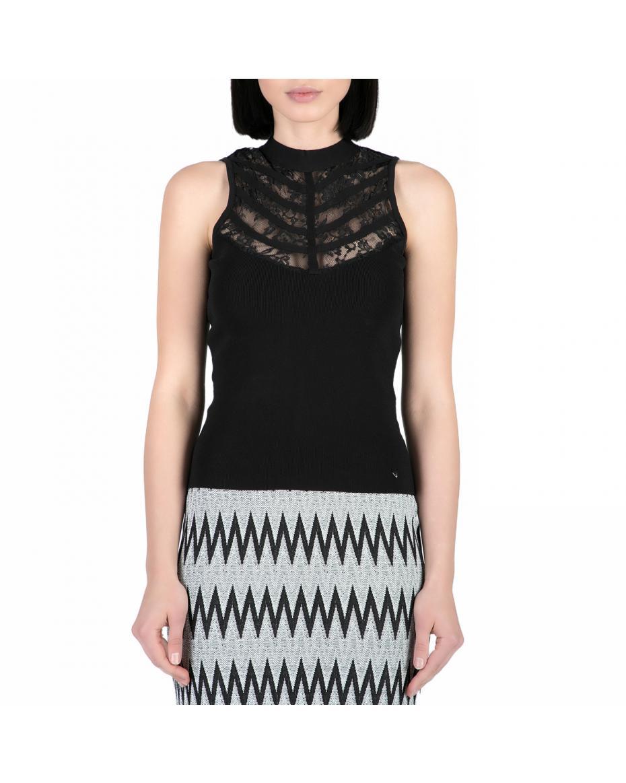 39b056de0fba GUESS Γυναικείες Μπλούζες στο e-shop Factory Outlet (51). ΦΙΛΤΡΑ. GUESS -  Τοπ GUESS μαύρο ...