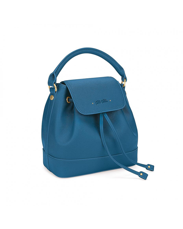 23cf25521e FOLLI FOLLIE - Γυναικεία τσάντα πλάτης FOLLI FOLLIE μπλε ...