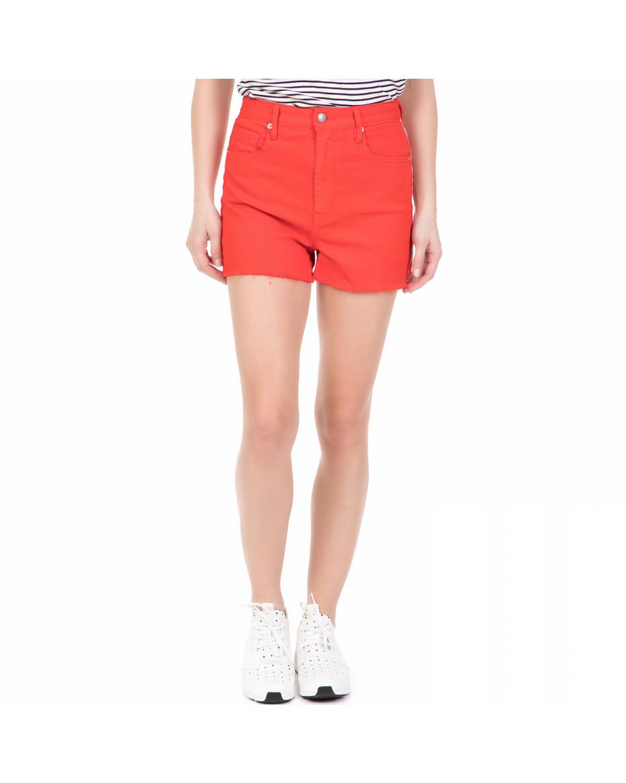 037509fc6ef1 JUICY COUTURE - Γυναικείο ψηλόμεσο τζιν σορτς JUICY COUTURE κόκκινο ...