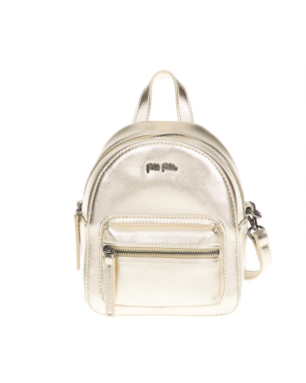 567742b21ece FOLLI FOLLIE - Γυναικεία τσάντα πλάτης Folli Follie χρυσή ...