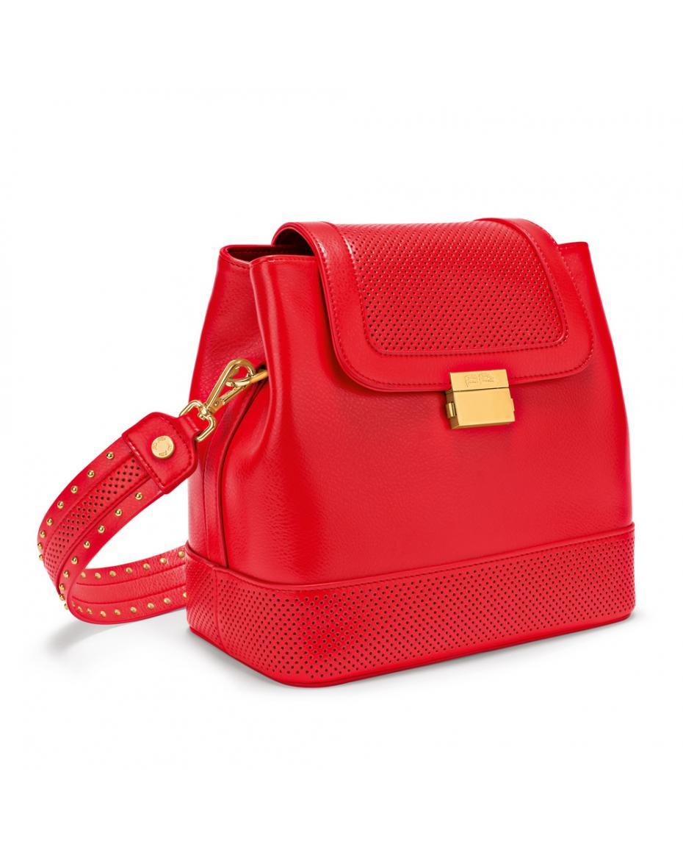 f53c5de74386 FOLLI FOLLIE - Γυναικεία τσάντα FOLLI FOLLIE ON THE DOT κόκκινη ...