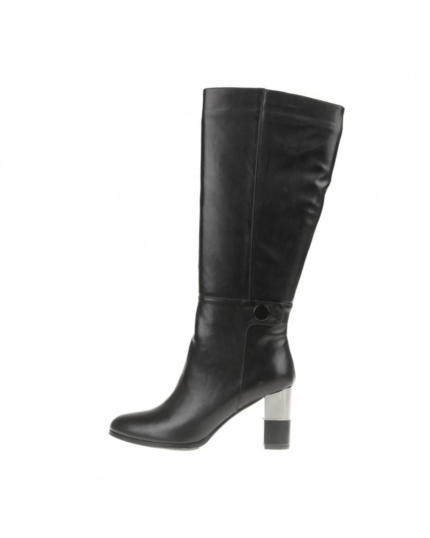 512647c922 19V69 VERSACE 19.69 - Γυναικείες ψηλοτάκουνες μπότες 19V69 VERSACE 19.69  μαύρες ...