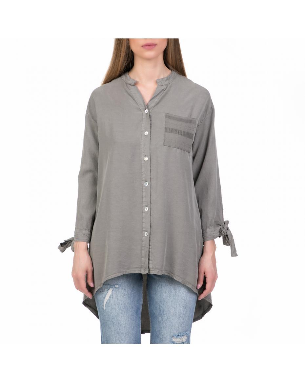 d36ff8eabcea  ALE - Γυναικείο μακρυμάνικο πουκάμισο  ALE μπεζ   ...