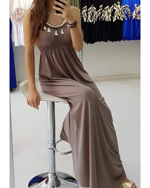 4de63bf7e824 Εξώπλατα Γυναικεία Φορέματα Online - Κορυφαία προϊόντα για Γυναικεία Ρούχα  χρώματος ΜΠΕΖ | Outfit.gr