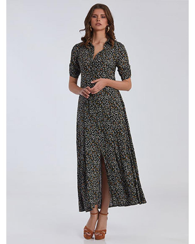 Maxi φλοράλ φόρεμα SG1728.8094 1