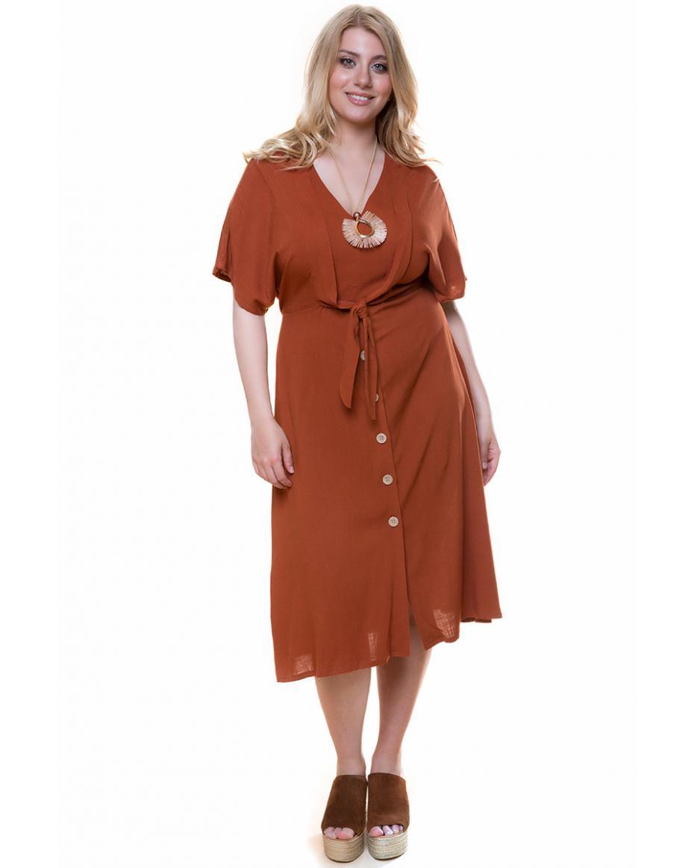3eddca96955 Γυναικεία Φορέματα σε Μεγάλα μεγέθη - Plus size - Happy Sizes με ...
