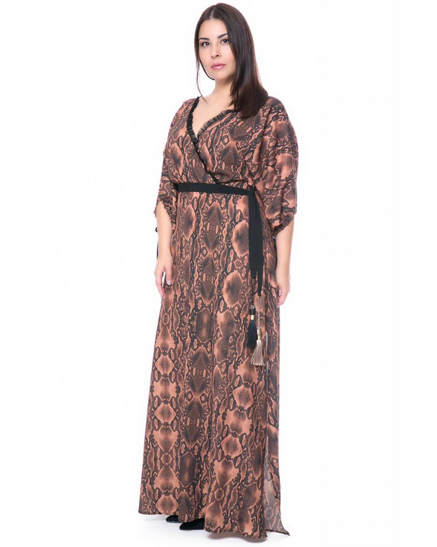 70cd24264c6 Γυναικεία Φορέματα σε Μεγάλα μεγέθη - Plus size χρώματος ΜΠΕΖ ...