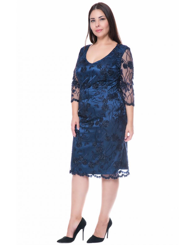 7287f1a8c154 Γυναικεία Φορέματα σε Μεγάλα μεγέθη - Plus size - Happy Sizes ...
