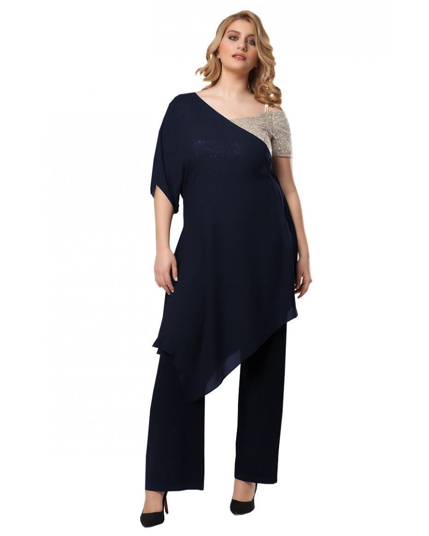 159fbfec5e6 Γυναικείες Ολόσωμες Φόρμες σε Μεγάλα μεγέθη - Plus size | Outfit.gr