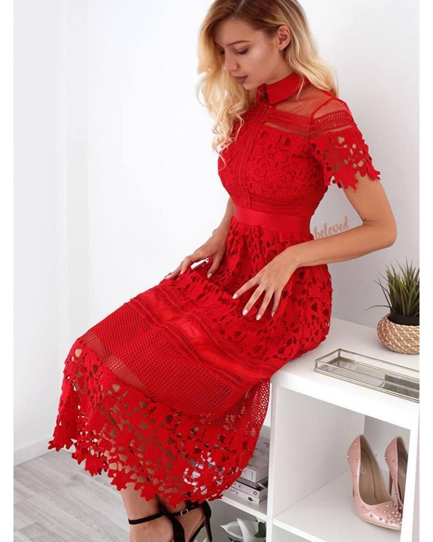 87c3bf5e0bca Κόκκινα Γυναικεία Φορέματα Online - Κορυφαία προϊόντα - Σελίδα 14 ...