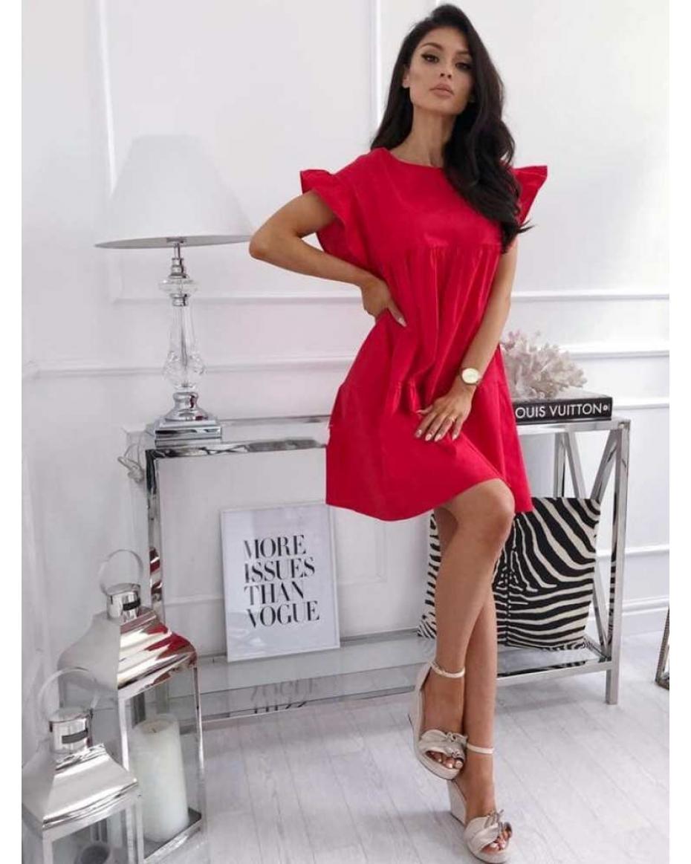 333f1fba288a Κόκκινα Γυναικεία Φορέματα Online - Ταξινομημένα Προϊόντα - Σελίδα 4 ...