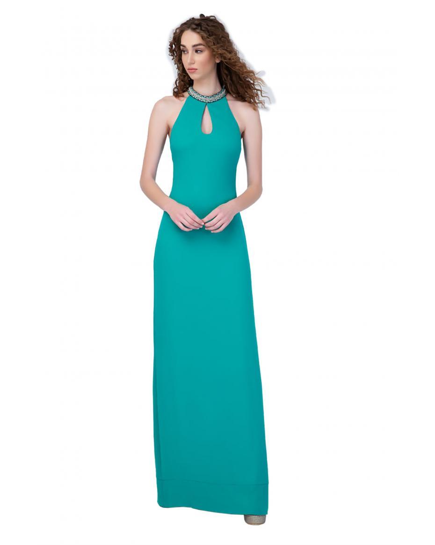 23def0fd394 Γυναικεία Φορέματα χρώματος ΤΙΡΚΟΥΑΖ | Outfit.gr