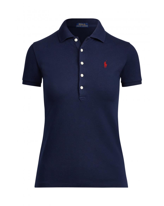 e7a50abcd505 Polo Ralph Lauren γυναικεία μπλούζα Polo Slim Fit Stretch - 211505654111 -  Μπλε Σκούρο ...