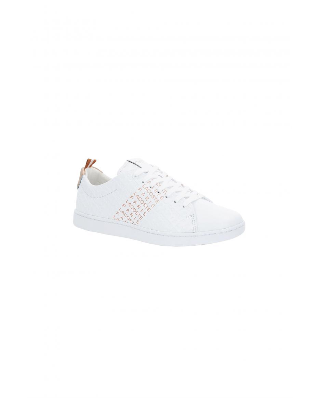 Lacoste γυναικεία sneakers με κορδόνια Carnaby Evo - 37SFA0012B53 - Φούξια