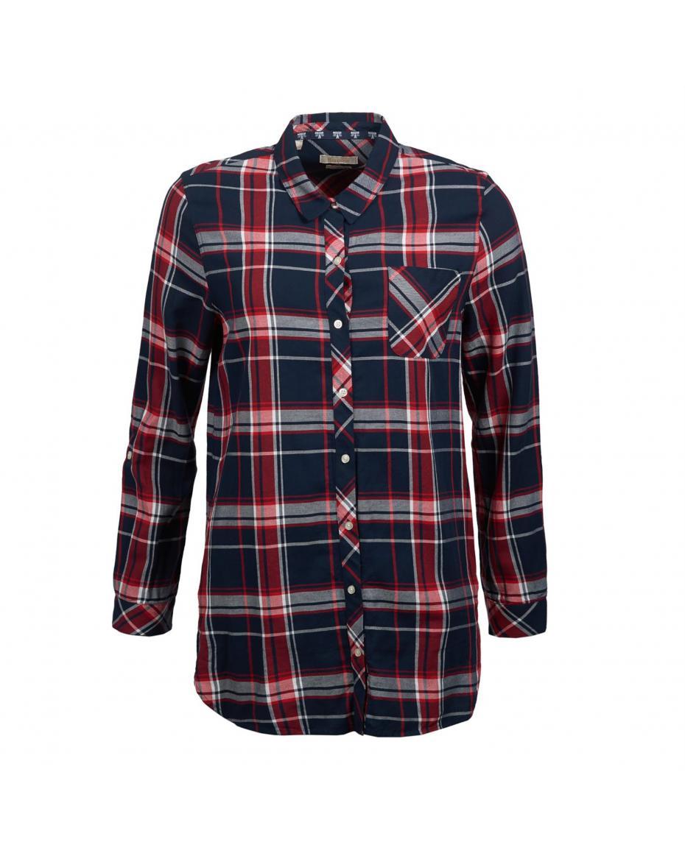 ed59e51afd41 Barbour γυναικείο καρό πουκάμισο Fairway - LSH1191 - Μπλε Σκούρο ...