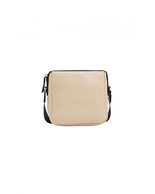 d9a88789c0 Esprit γυναικείο τετράγωνο crossbody τσαντάκι με ιμάντα - 019EA1O041 - Nude  ...