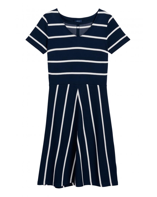 72a1103f7a4d Gant γυναικείο μίνι φόρεμα με ρίγες - 4204324 - Μπλε Σκούρο ...
