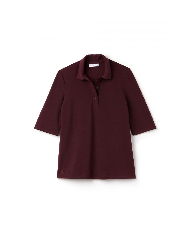 521ab434f125 Lacoste γυναικεία μπλούζα loose - PF7652 - Μπορντό