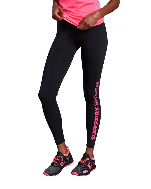 6d844a253a53 Superdry γυναικείο κολάν Core Essential Leggings - GS30030AR - Μαύρο ...