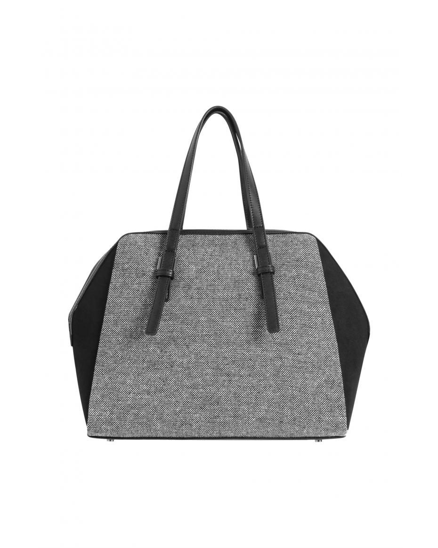 e13d9da151a5 Orsay γυναικεία τσάντα χειρός με μικροσχέδιο - 902427-660000 - Μαύρο ...