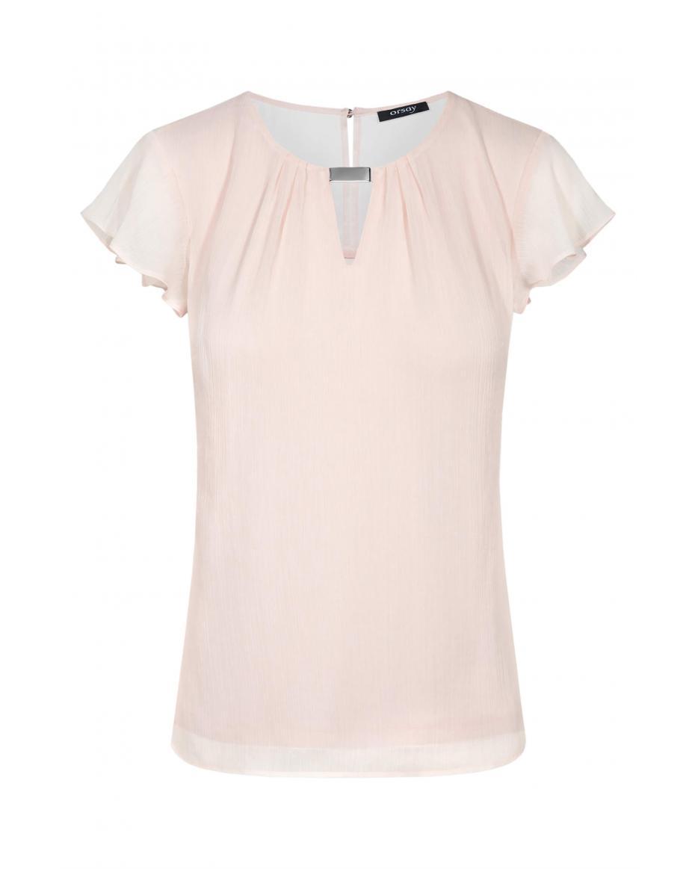 e6752a246543 Orsay γυναικεία μπλούζα με μεταλλική λεπτομέρεια και loose μανίκια -  150153-352000 - Nude ...