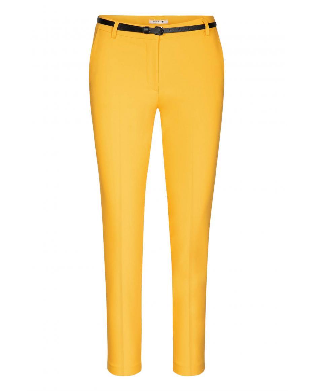 e61e72051a Orsay γυναικείο παντελόνι chino με ζώνη - 356162-160000 - Κίτρινο ...