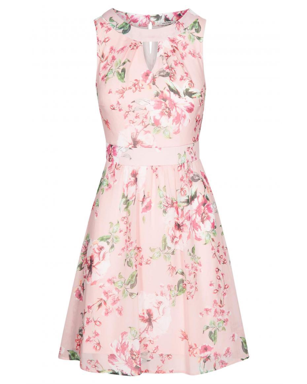 b4caf0009b2 Orsay γυναικείο φόρεμα εμπριμέ με μικρό άνοιγμα - 470167-352000 - Ροζ ...