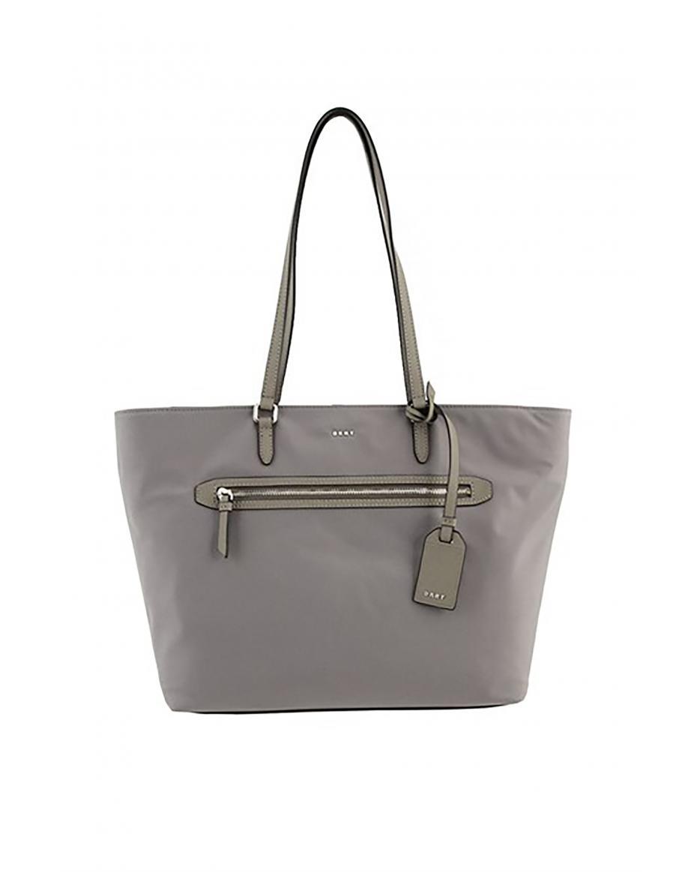 2ccbb714fedb DKNY γυναικεία τσάντα ώμου Casey - R81AE591 - Γκρι ...