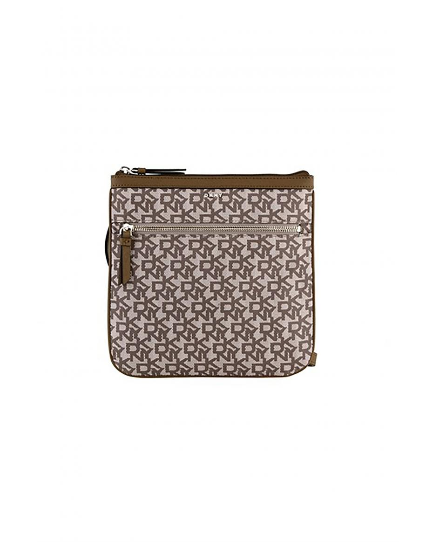9d8bd25ae8 DKNY γυναικεία τσάντα crossbody με λογότυπο Casey - R84EF397 - Καφέ ...