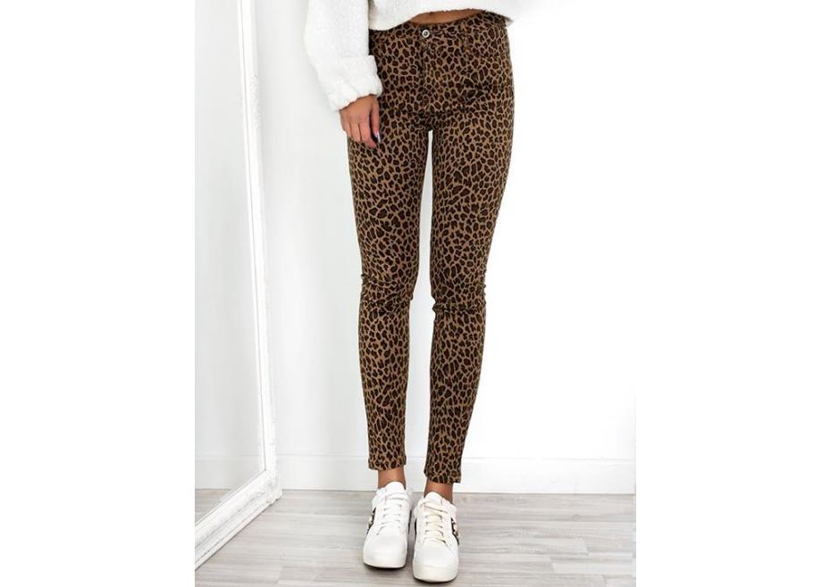 Leopard παντελόνι!