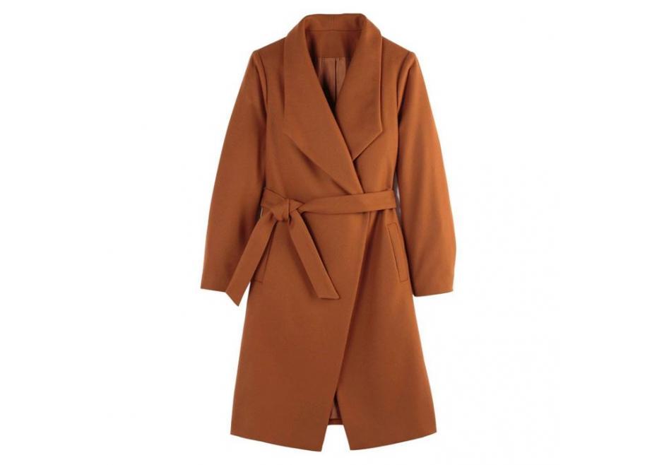 Μάλλινο παλτό!