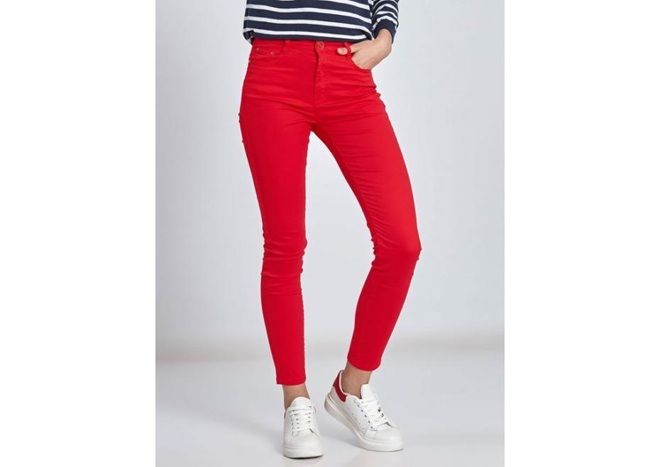 Ψηλόμεσο skinny παντελόνι!