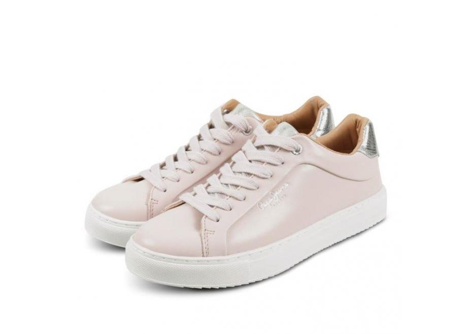Δερμάτινα sneakers!
